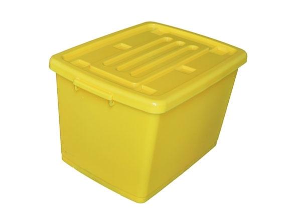 塑料周转箱使用不当及质量都容易造成损坏