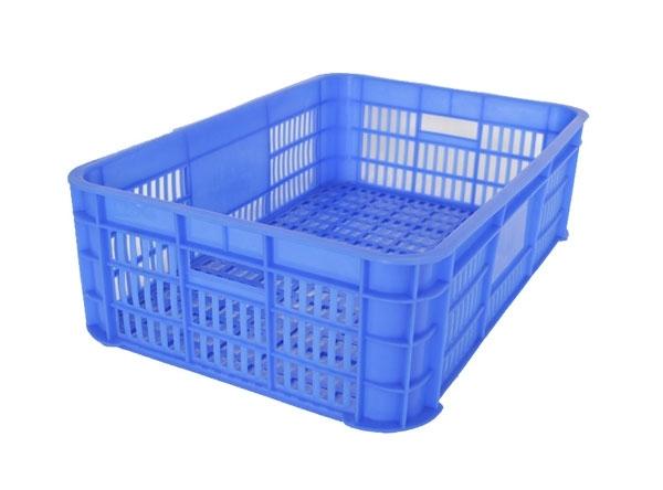 塑料周转筐在生鲜食材配送方面的运用